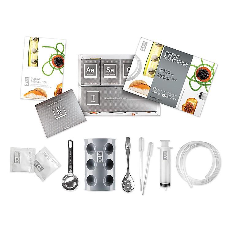 Kit de cocina molecular r evolution for Utensilios de cocina originales