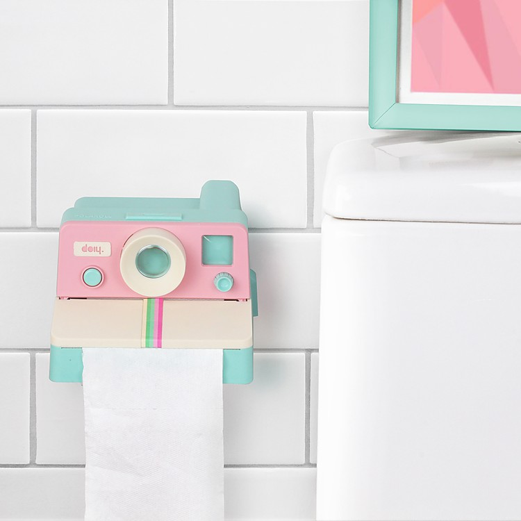 Portarrollos de papel higi nico c mara instant nea for Portarrollos papel higienico
