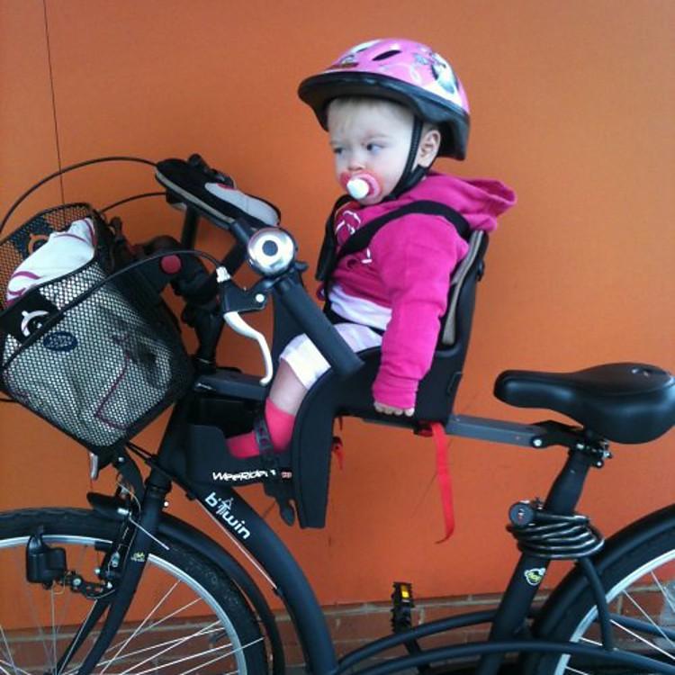 Silla para bicicleta portabeb s weeride - Silla bebe bicicleta delantera ...