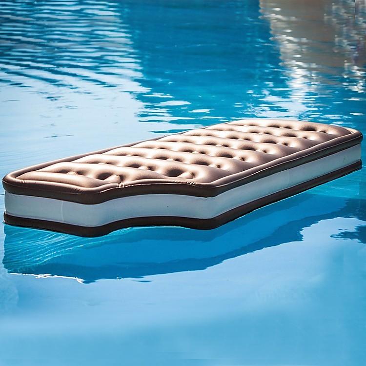 Colchoneta de playa s ndwich nata - Colchonetas para piscina ...