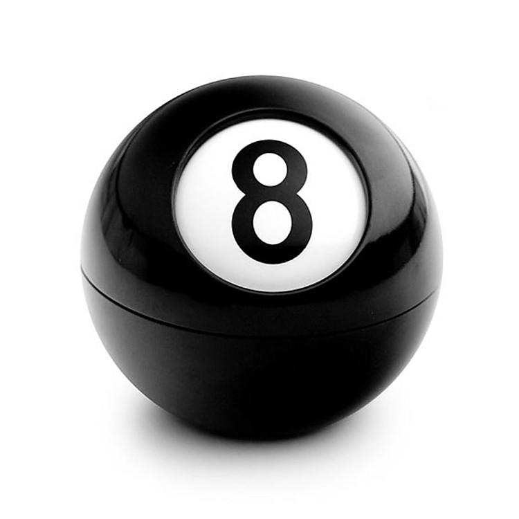 Cenicero original bola de billar negra es como la bola nmero ocho del billar altavistaventures Choice Image