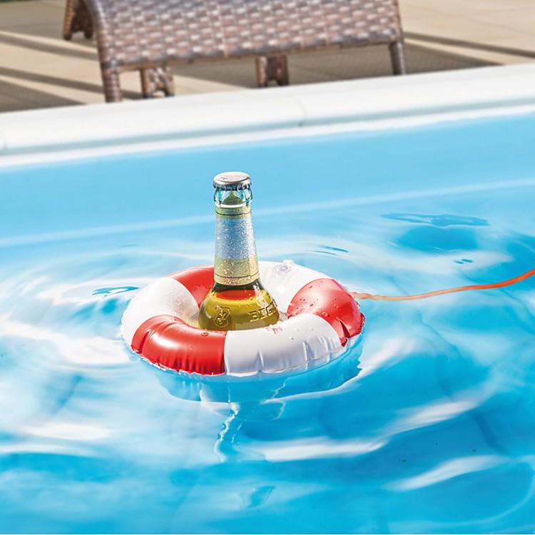 Flotador para botellas for Salvavidas para piscinas