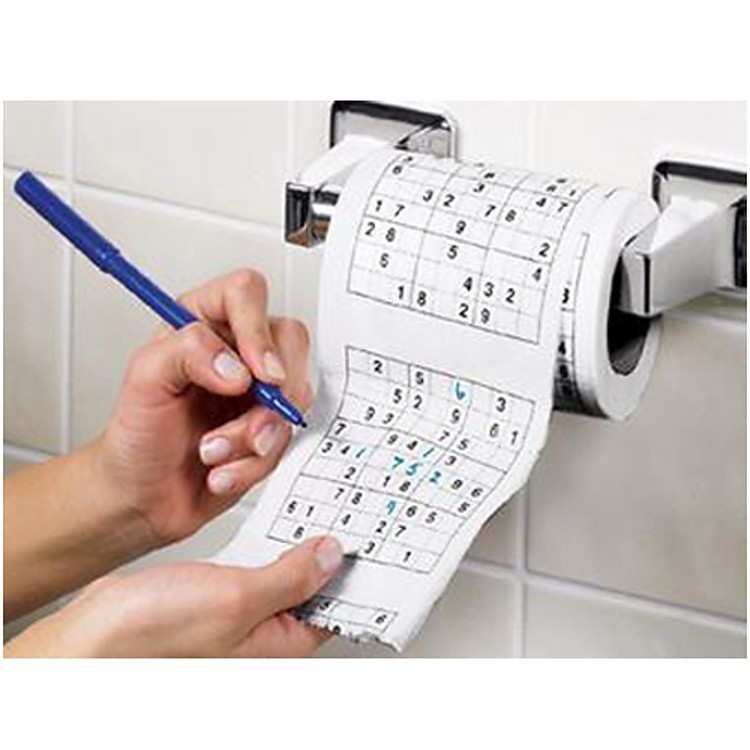 Rollo de papel higi nico sudoku - Papier toilette fantaisie ...