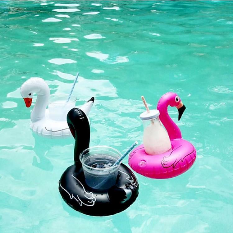 Flotadores para bebidas flamenco y cisnes - Flotadores gigantes ...
