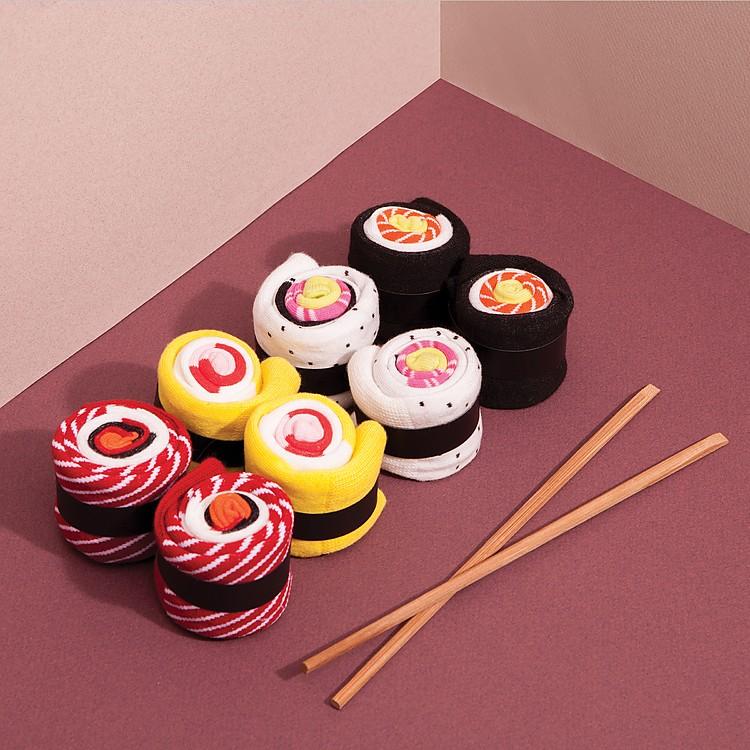 Calcetines originales con forma de maki - Cosas originales para regalar ...