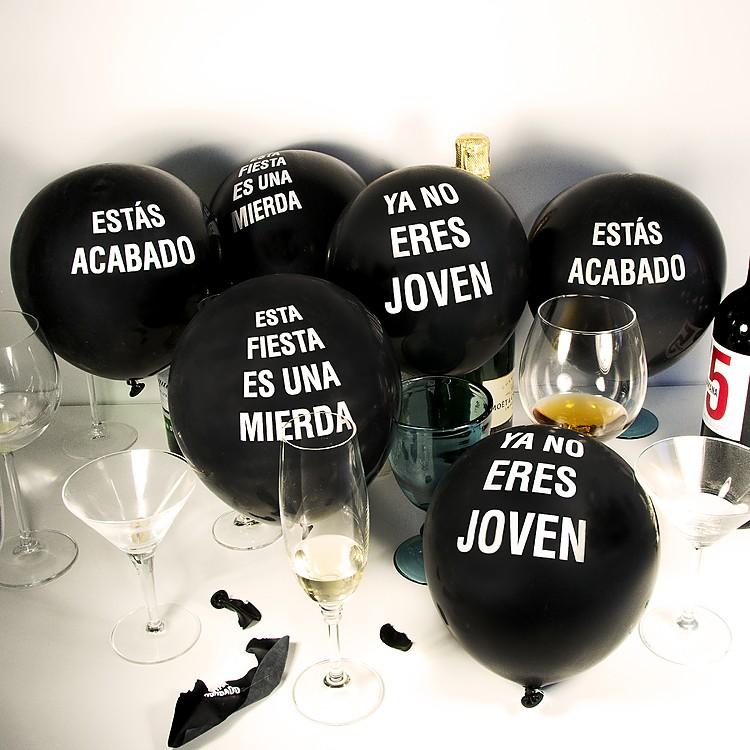 Globos aguafiestas - Globos fiesta cumpleanos ...