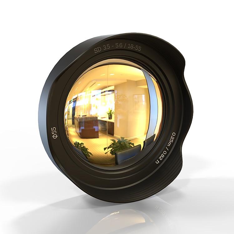 Espejo Ojo de Pez Objetivo Fotográfico