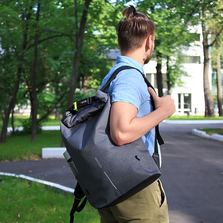 136b5bb3a2 Bobby Urban Lite  la mochila antirrobo de estilo urbano