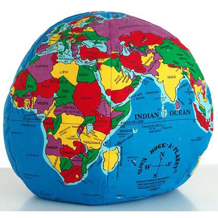 Bola del mundo de tela hugg a planet - Bola del mundo decoracion ...