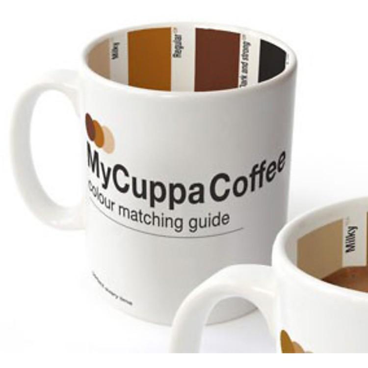 Taza de caf pantone mycuppa for Capacidad taza cafe con leche