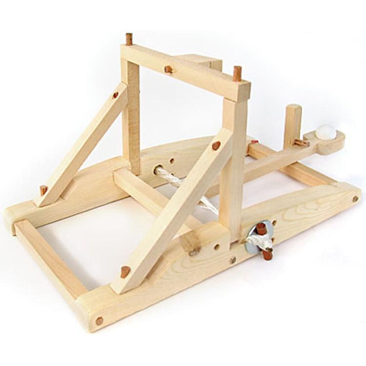 Kit para construir una catapulta de madera pathfinders for Hacer planos facil