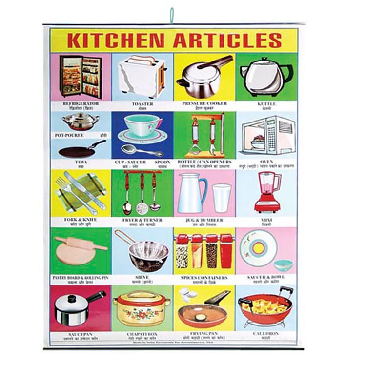 P ster 39 art culos de cocina 39 for Remates articulos de cocina