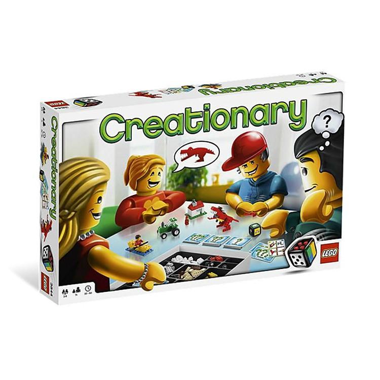 Creationary de lego for Ni si ni no juego de mesa