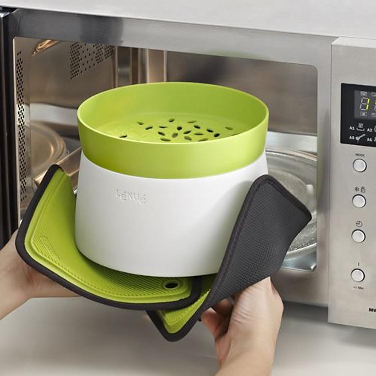 Cocedor de arroz y cereales para microondas for Cocinar microondas