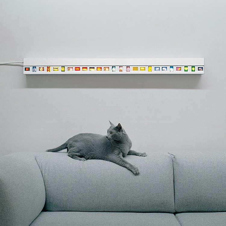 Marco para Diapositivas con Luz, \'Slide Light\'