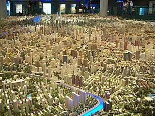Shangai tiene la maqueta más grande del mundo: ocupa 93 metros cuadrados
