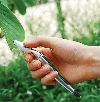 Scan a leaf...