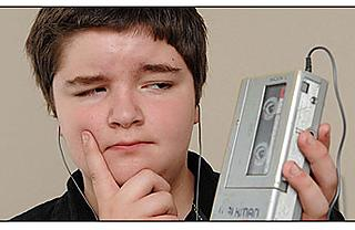 Scott Campbell, age 13, participated in the BBC's experiment