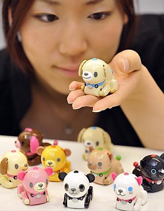 A dog, a panda bear, a cat... choose your favorite Micro Pet