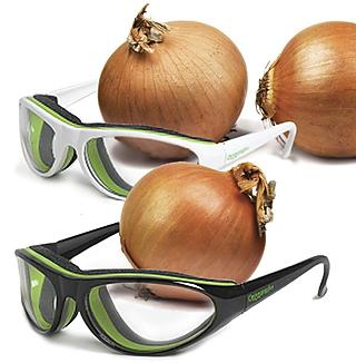 Onion Goggles protect you from cruel onions