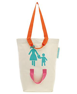 Hook your child on to this shopping bag so he won't get lost again