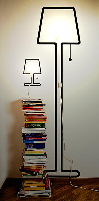 It's a proven fact: A stack of neatly piled books looks great in any corner