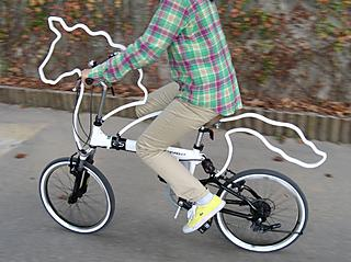 "Turn your bike into a horse with ""horsey"""