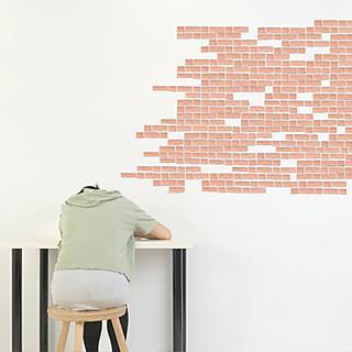Make any wall look like a bear brick wall