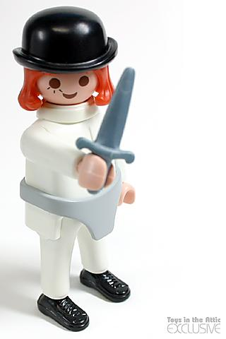 "Alex, main character in the "" Clockwork Orange "" movie, a 20th Century classic"