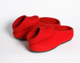 Slippers and miniature slippers