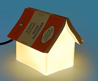 Turn your book into a roof for this little house
