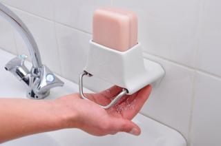 Convenient dispenser for bars of soap
