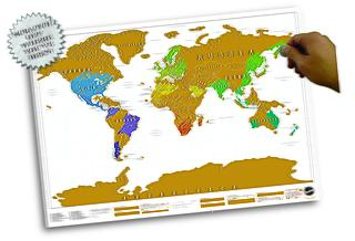 Un regalo para no fallar: el Mapa de Rascar