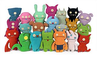 Uglydolls, the plush trend in the States