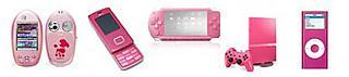"""""""Gadgets"""" en rosa"""