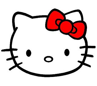 Hello Kitty tal cual vino al mundo