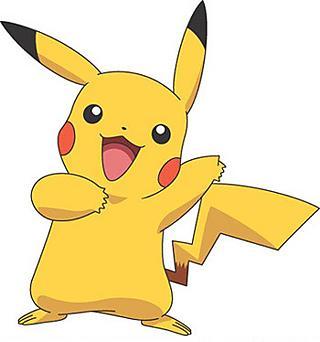 Pikachu más feliz que chupito