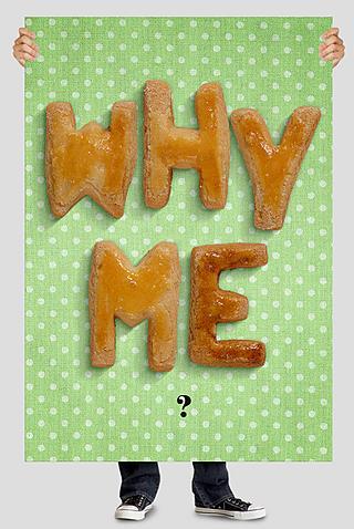 Escribe con galletas glaseadas