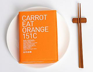 "Carrot Orange Diary ""Orange 151C"""