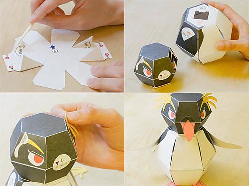 Kamikara figuras 3d papel taringa for Papel pintado tres dimensiones